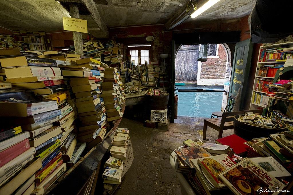 Alta Acqua : librairie réputée de Venise
