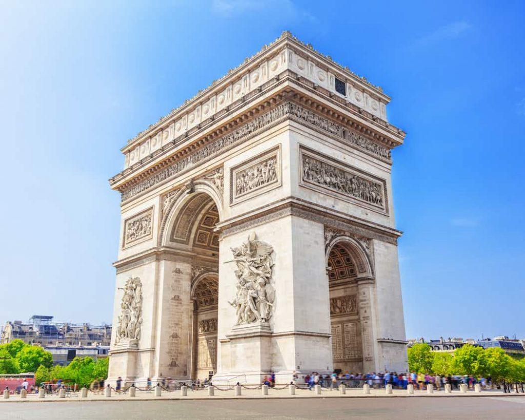 Arc de Triomphe : monument parisien