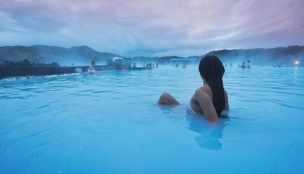 Blue Lagoon : source d'eau chaude géothermale : quand partir en Islande