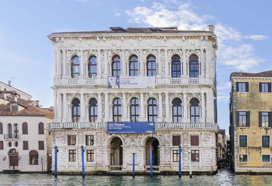 CA Pesaro : Galerie Internationale d'Art Moderne de Venise