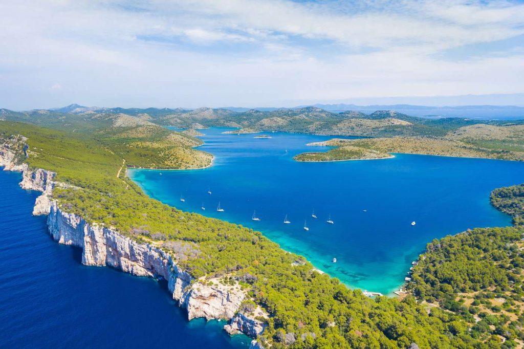 Dugi Otok : iles croate du parc national de Telescica