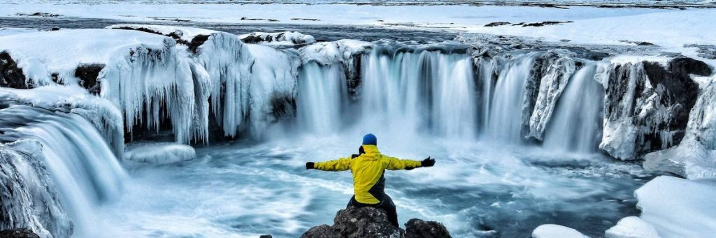 Godafoss : chute d'eau en Islande