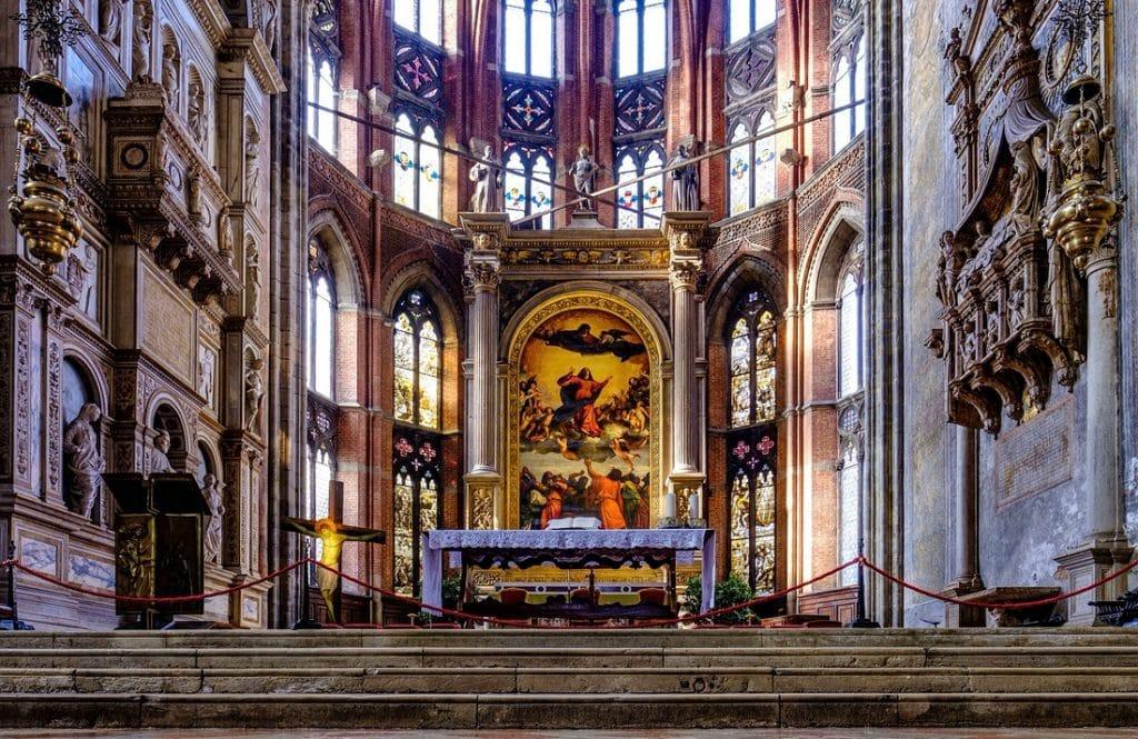 Basilique Maria Gloriosa dei Frari : lieux touristique à visiter à Venise