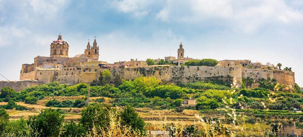 Mdina : ville à visiter à Malte