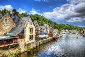 Port de Dinan : lieu à visiter en Bretagne