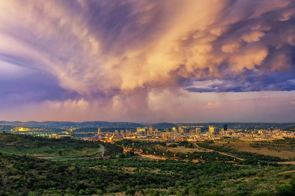 Pretoria paysage de la ville