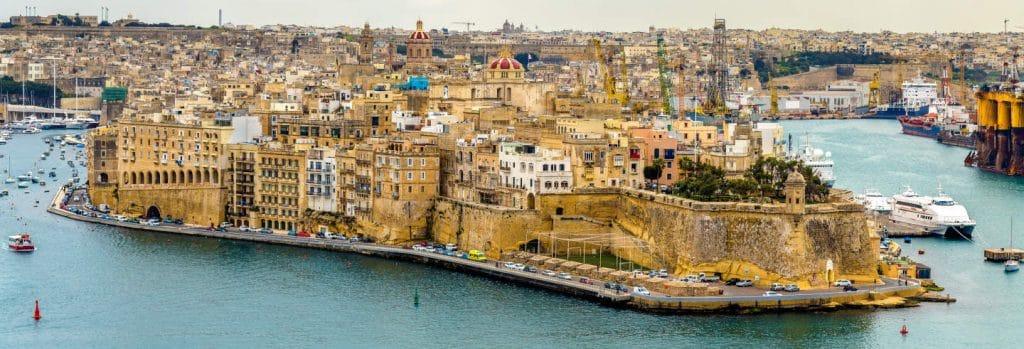 Senglea : 3 cités Malte