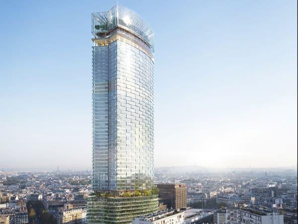 la grande Tour de Montparnasse qui surplombe la ville de Paris