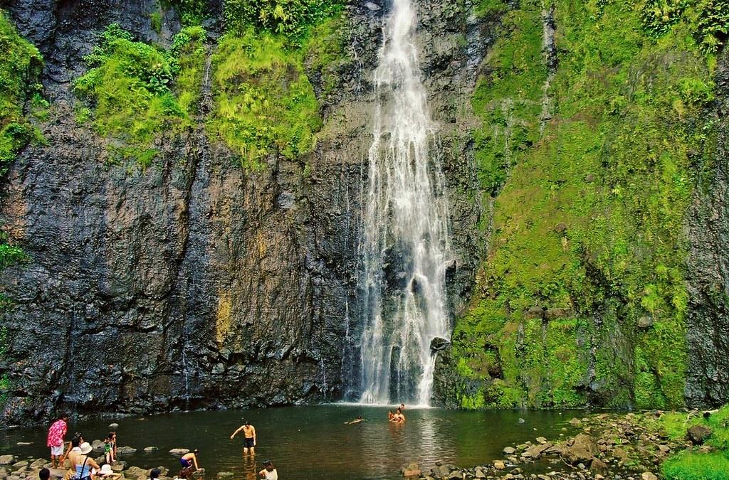 Vaimahura : chute de Tahiti à voir