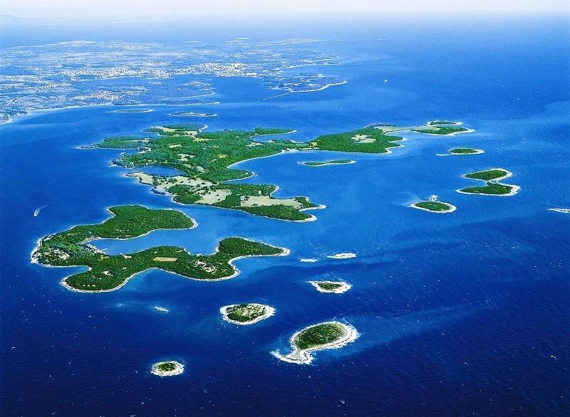 Archipel des îles Brijuni : parc national Croatie