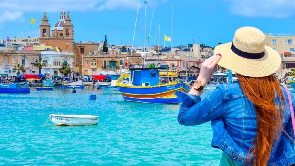 marché au poissons de Marsaxlokk : quai | port