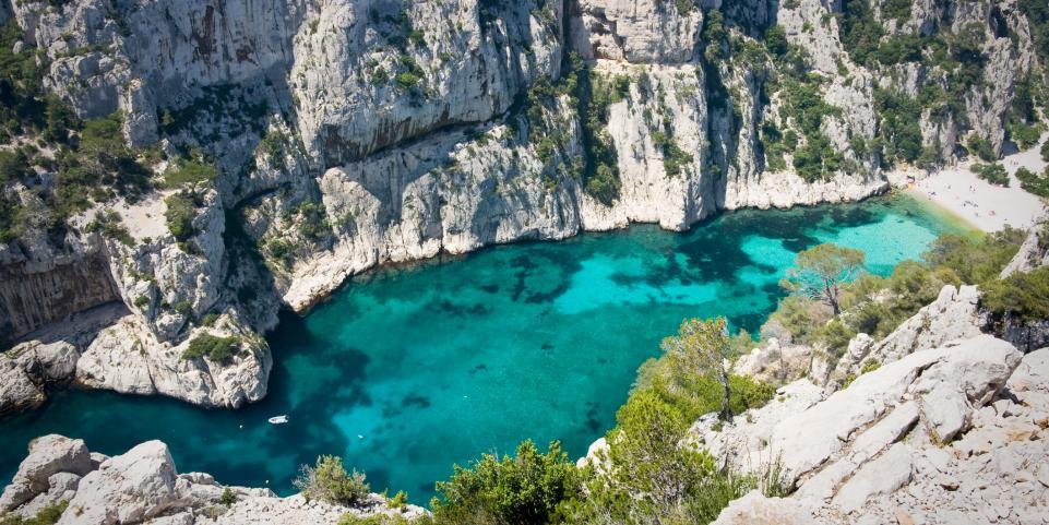 Voir les Calanques de Marseille