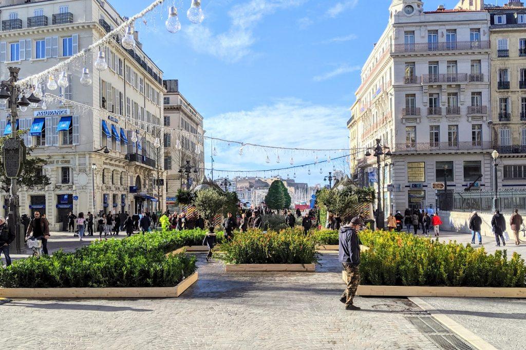 Canebiere , quartier commerçant de Marseille