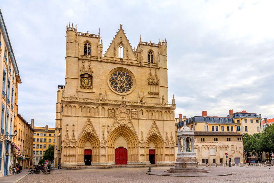 Cathédrale de Saint Jean Baptiste dans le 5eme arrondissement de Lyon