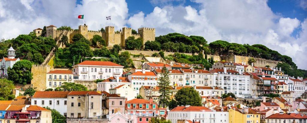 Chateau de Saint George à Lisbonne : endroit à visiter