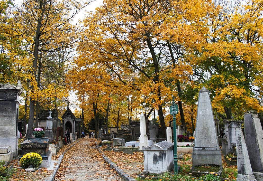 Entrée du cimetière du Pere Lachaise