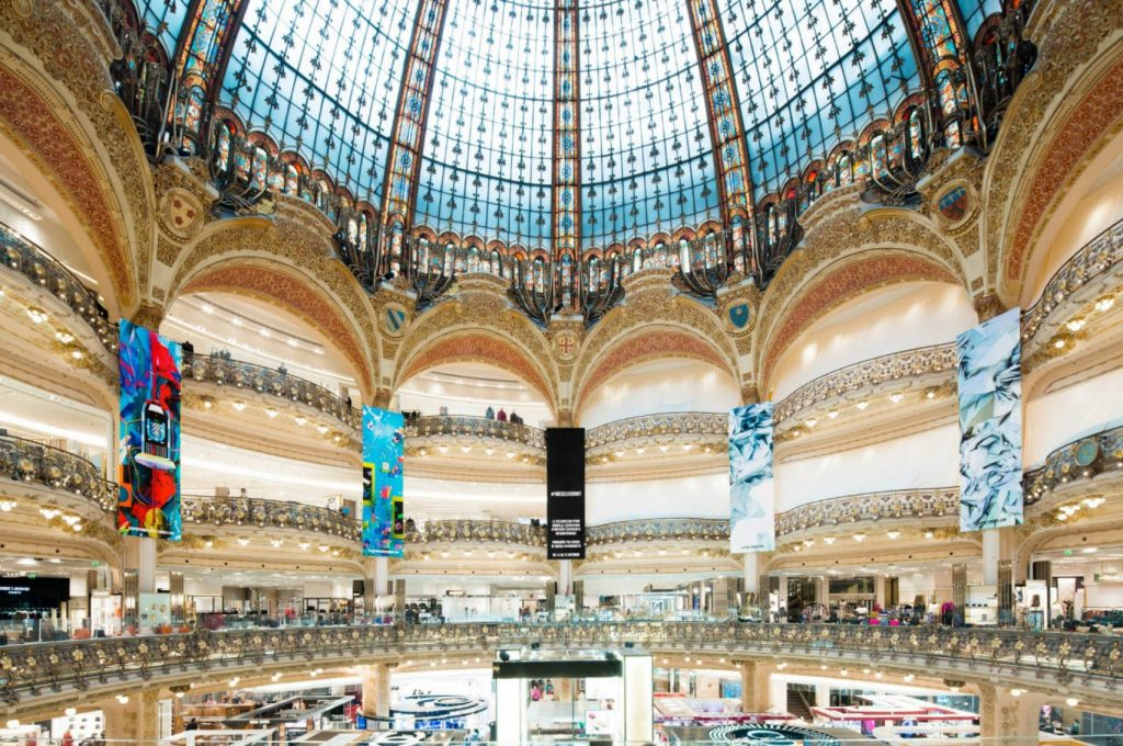 Galerie Lafayette haussman