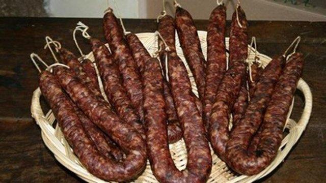 Saucisse Corse : spécialité gastronomique corse
