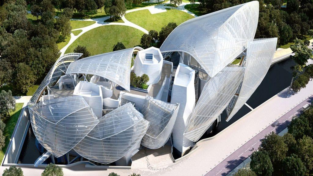 Siège de la fondation Louis Vuitton LVMH