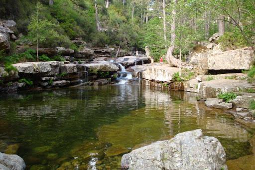Foret Aitone : piscine naturelle Corse nord