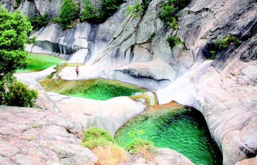Les gorges de Restonica en Haute Corse