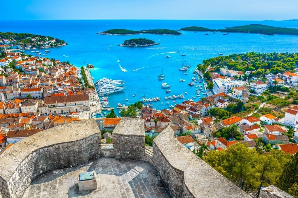 Ile de Hvar : lieu à visiter en Croatie