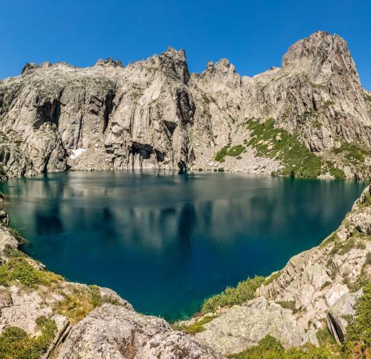 Lac Capitello en Haute Corse