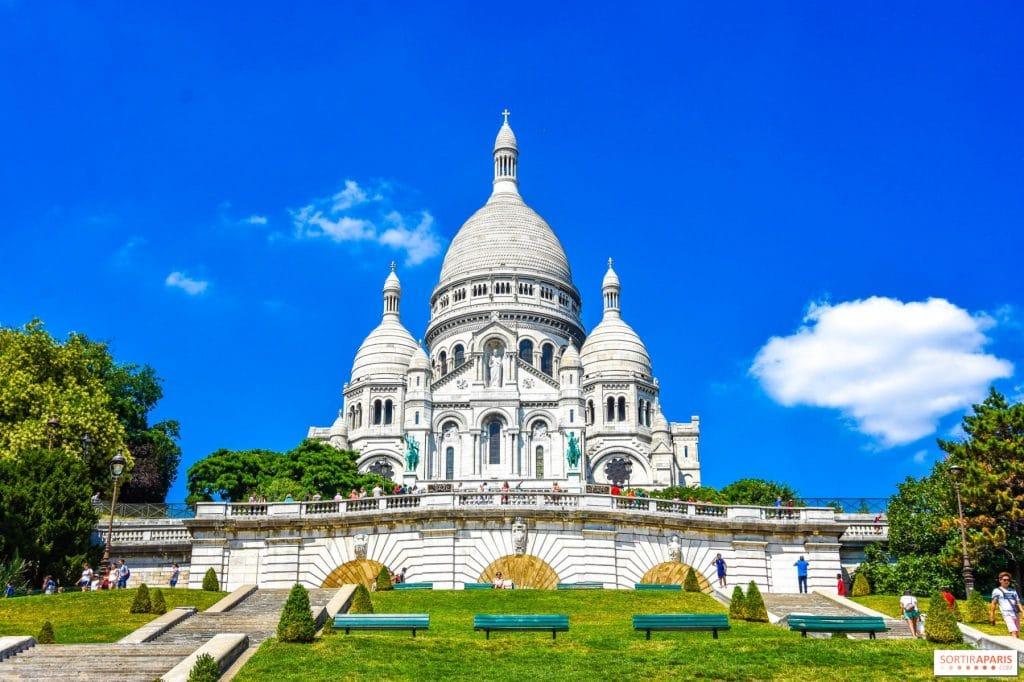 Basilique Sacré coeur de Montmartre à Paris