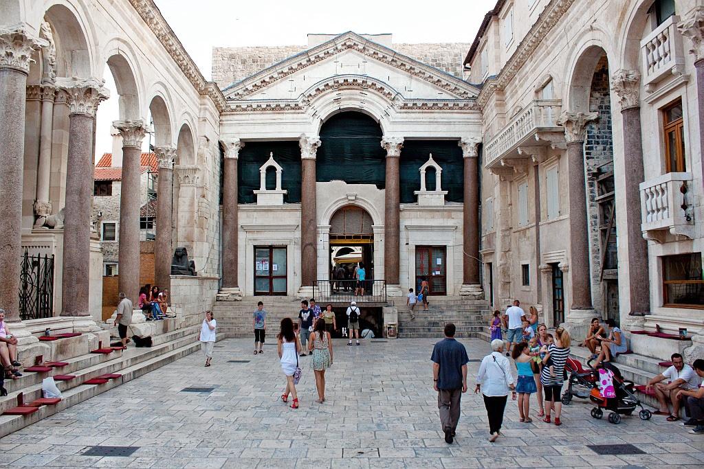 Palais dioclésien de Split : ce qu'il faut faire et visiter en Croatie
