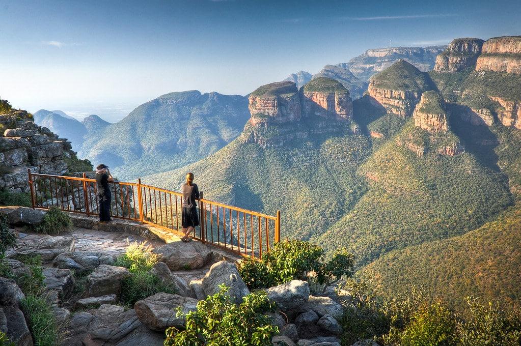 blyde river Canyon : lieu à visiter en Afrique du sud