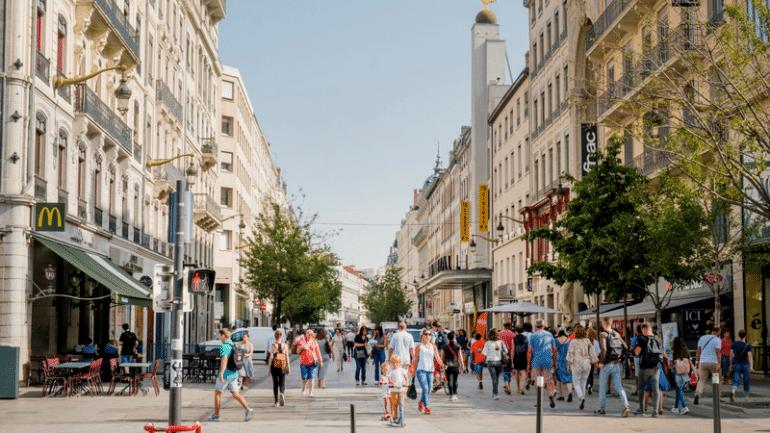 Faire du shopping à la rue de l a République   Lyon