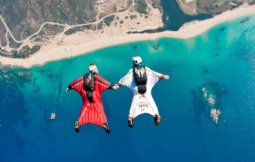 Faire du saut en parachute en Corse