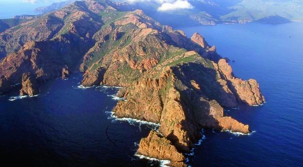 Réserve naturelle Scandola en Corse