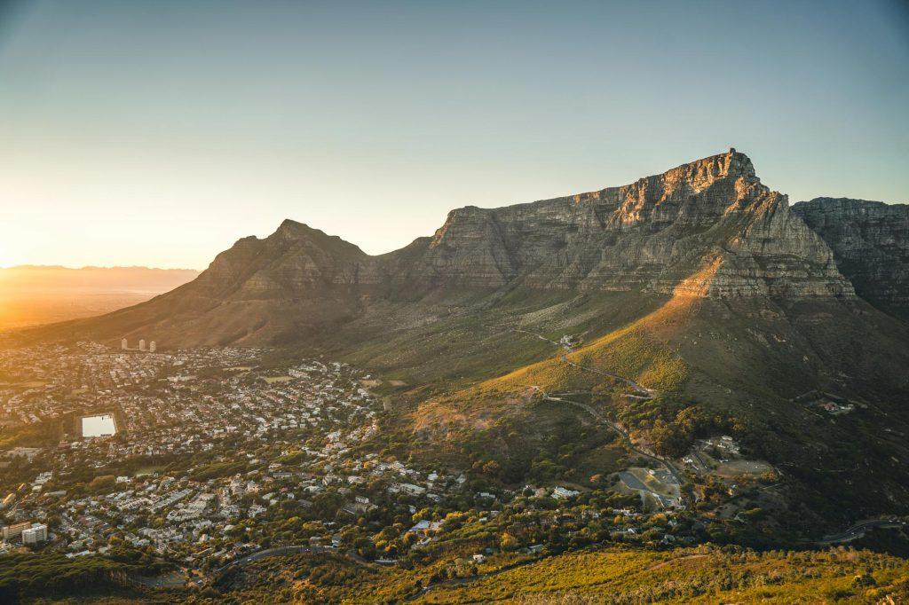 Table Montain Afrique du sud