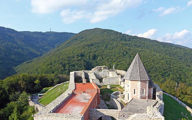 forteresse Medvedgrad