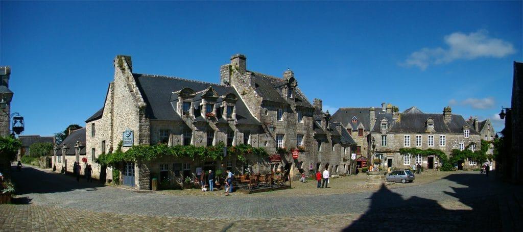 Locronan ville de Bretagne