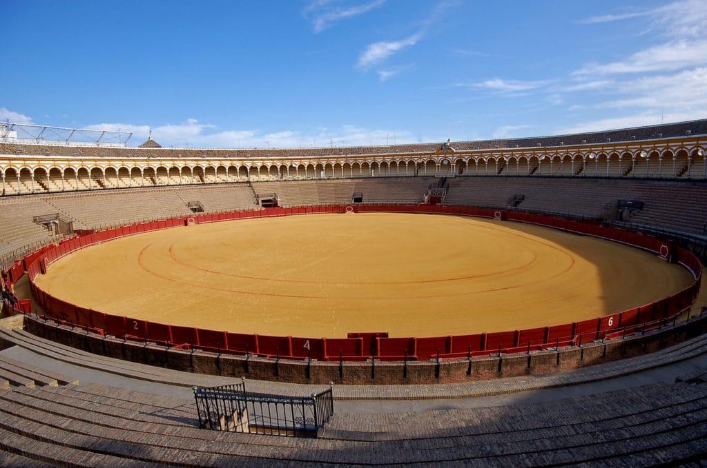 Plaza de la Maestranza : Arène Seville
