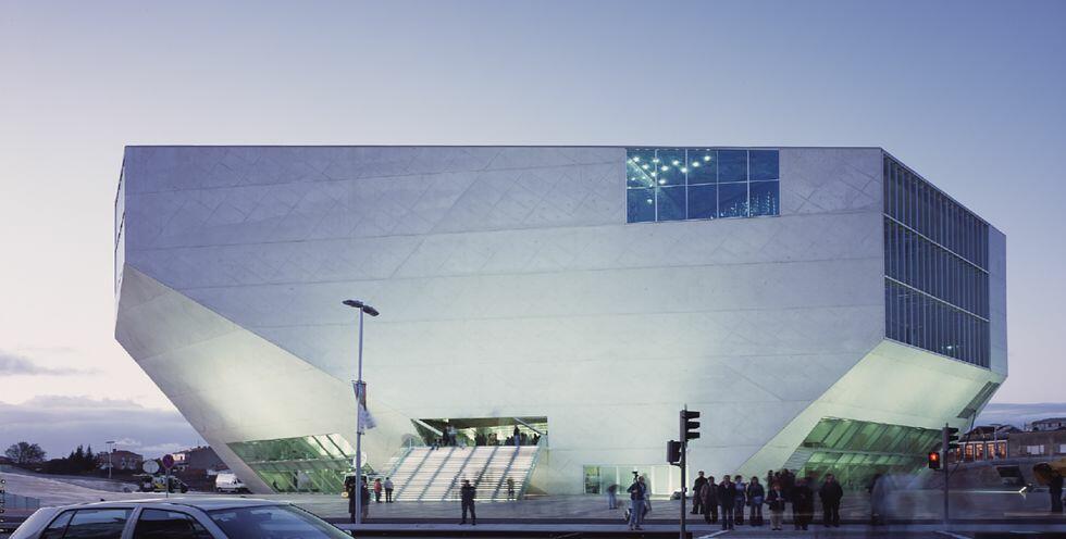 Casa Musica de Porto : grande salle de spectacle