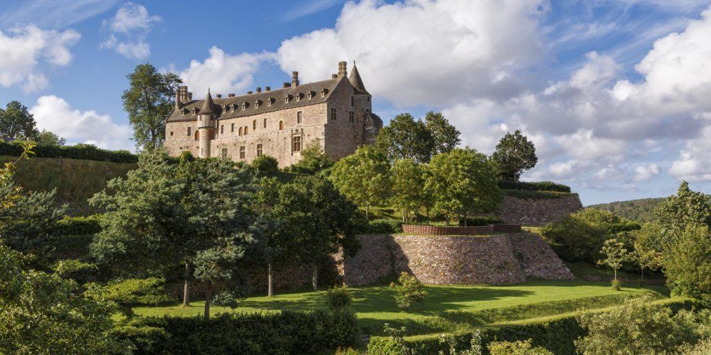 Chateau Roche Jagu Bretagne