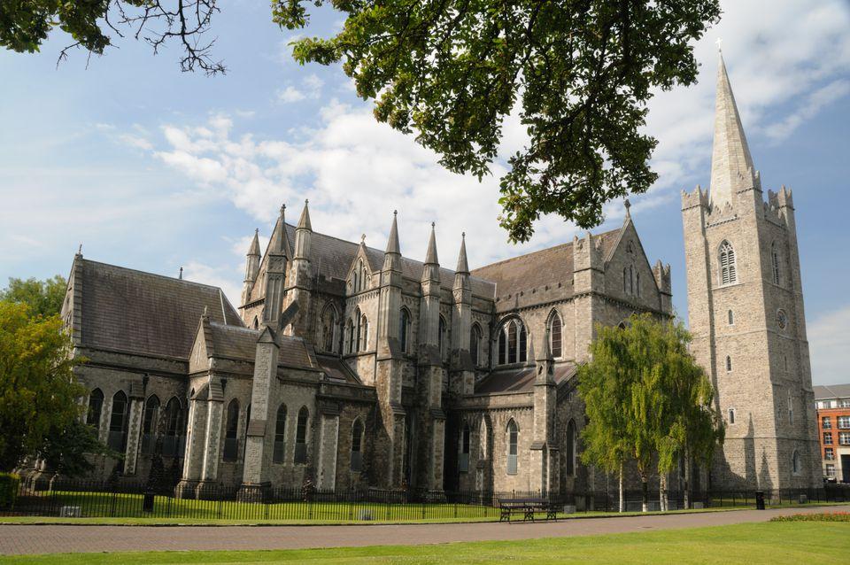Eglise Saint Patrick : plus grande église d'irlande