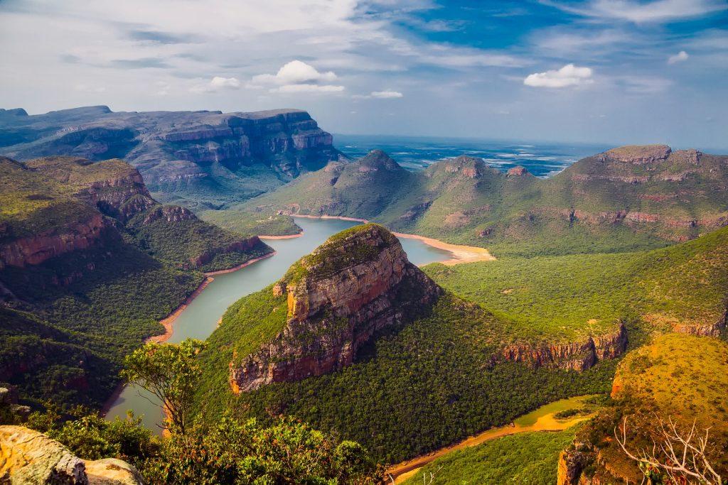 la réserve naturel de Blyde River Canyon en Afrique du sud