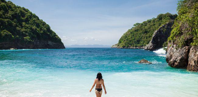 Partir à Atuh Beach à Bali au mois de mai