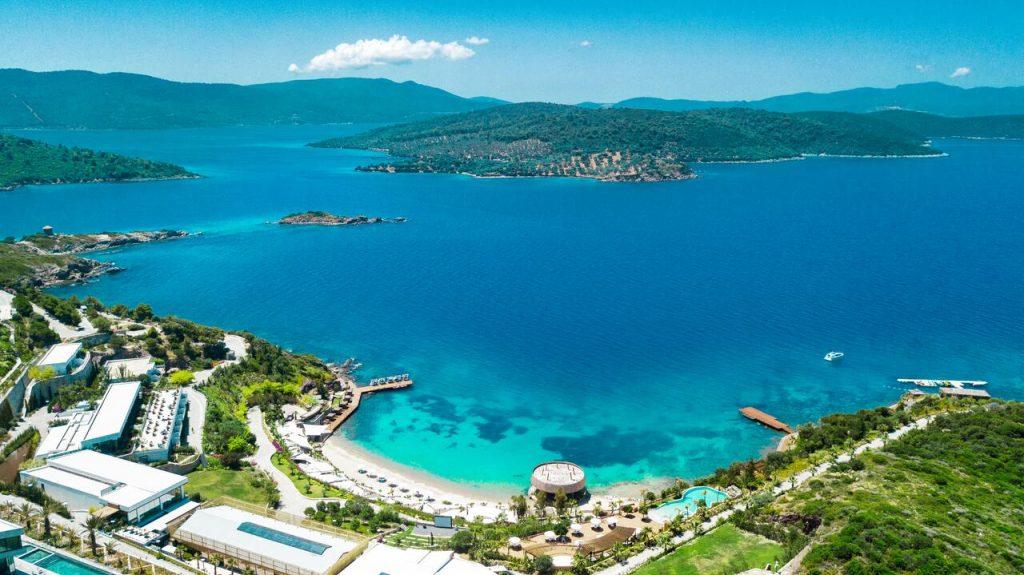 Bodrum et sa péninsule en Turquie au mois de mai