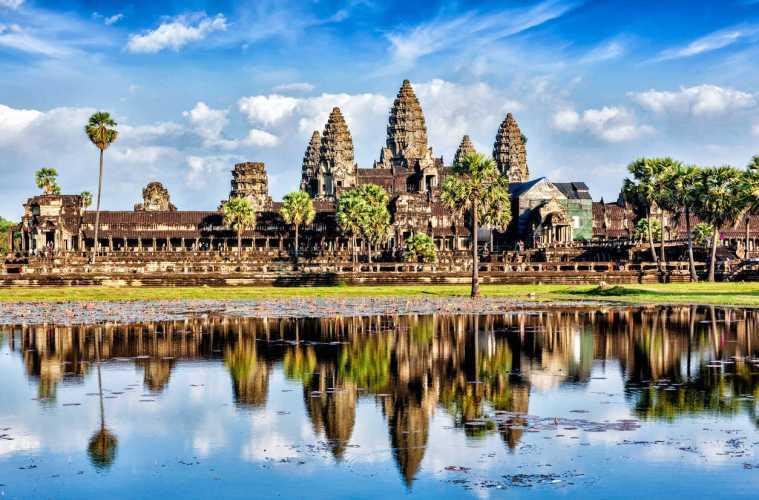 Aller au Cambodge