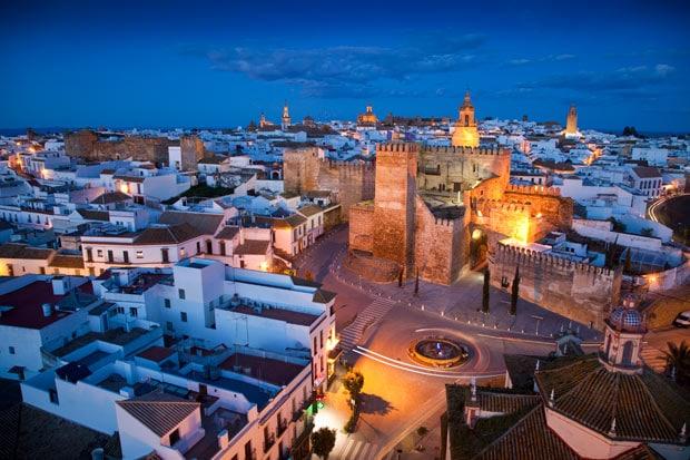 Carmona : province de Séville en Andalousie