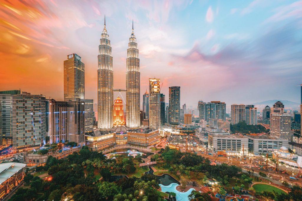 Tour Pétrolas à Kuala Lumpur en Malaisie
