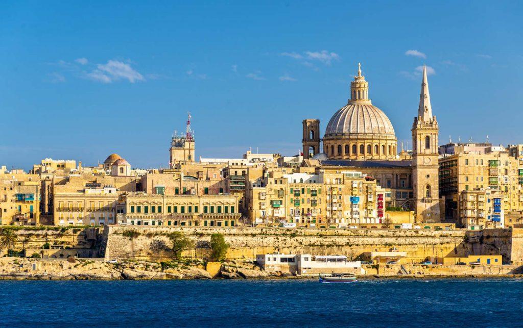 La Valette capitale de Malte en mai