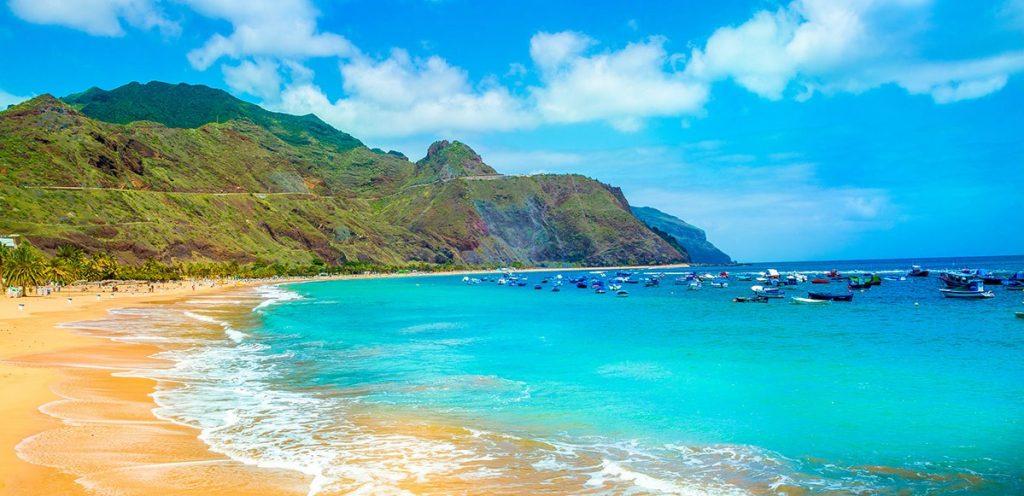 PLagde las Teresitas à Tenerife aux îles Canaries