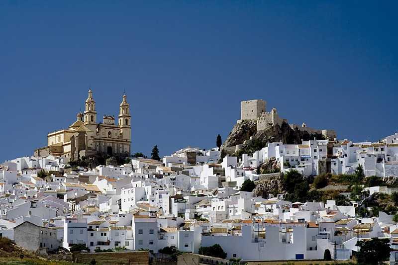 Route des villages blanc en Andalousie : faire uen excursion en mars dans cette région