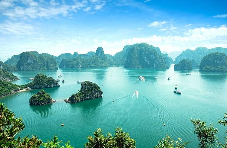 Croiisère sur la Baie d'Halong au Vietnam